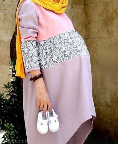 لباس بارداری عید نوروز 98 |مدل های لباس بارداری ویژه بهار و عید نوروز 1398