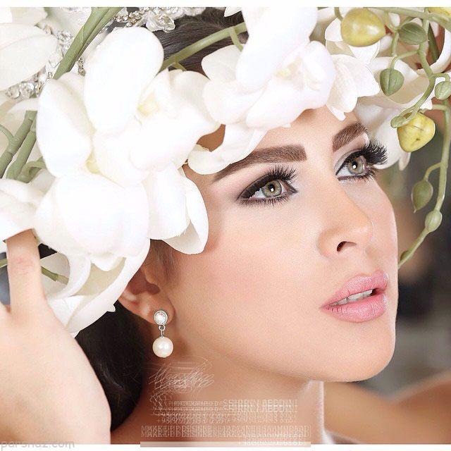 مدل آرایش عروس 2018 |بهترین مدل های آرایش عروس شیک ایرانی و اروپایی 97
