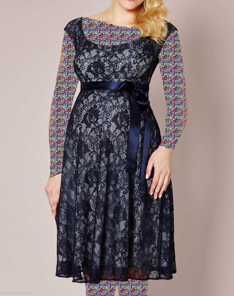 لباس بارداری عید نوروز 97 |مدل های لباس بارداری ویژه بهار و عید نوروز 1397