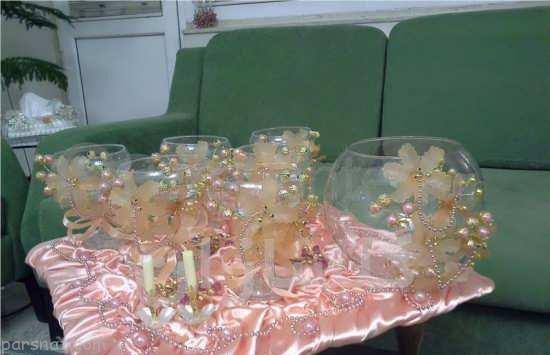 سفره هفت سین عروس به همراه بهترین دکوراسیون خانه عروس