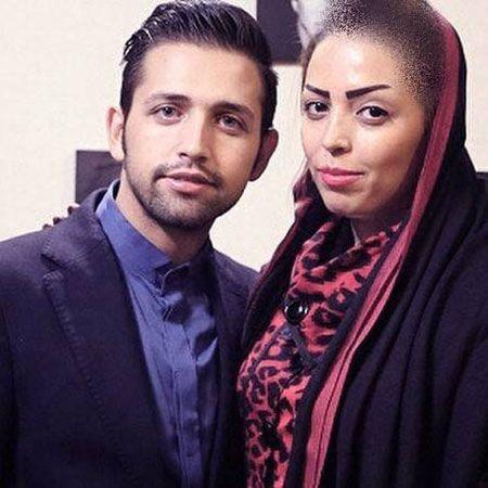 عکس برهنه محسن افشانی و همسرش در استخر |محسن افشانی و سویل|محسن افشانی و خواهرش