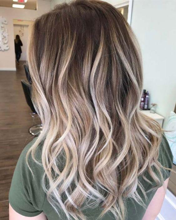 رنگ موهای دخترانه و زنانه تابستان ۲۰۱۹ +مدل رنگ موهای متفاوت و زیبا 98