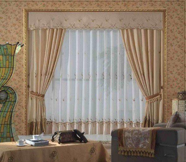 مدل های شیک پرده برای اتاق خواب و پذیرایی (مدل پرده در نگ های زیبا و متفاوت)