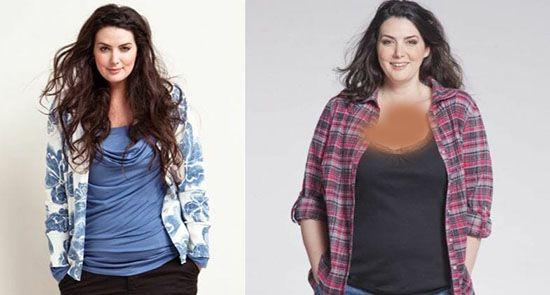 با 10 مدل درشت اندام و جذاب جهان آشنا شوید | زیباترین مدلینگ های چاق