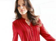 مدل لباس شومیز حریر زنانه | مدل لباس شومیز بلند مجلسی (41 مدل لباس زیبا)