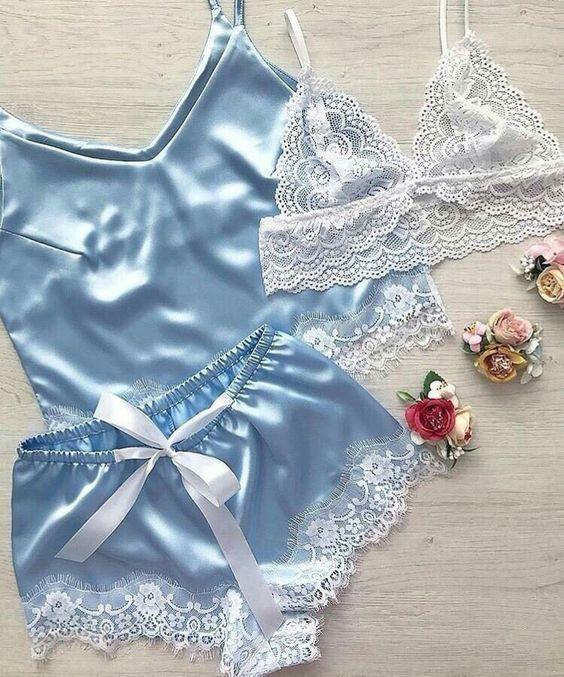 لباس زیر زنانه جذاب و داغ برای شب زفاف |مدل ست لباس زیر برای عروس خانم ها
