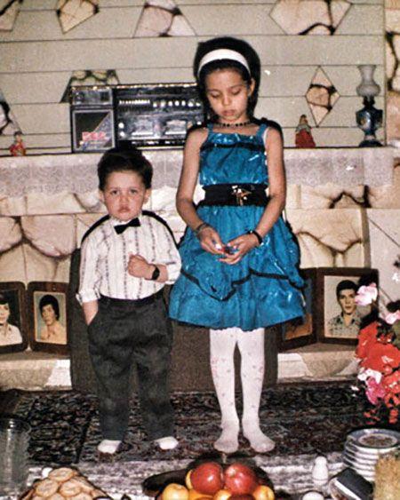 جنجال عکس برهنه محسن افشانی و سویل در استخر |محسن افشانی و سویل