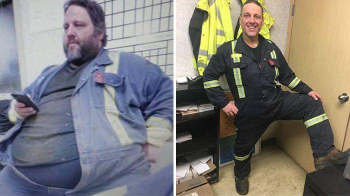 این مرد چاق به دلیل جا نشدن روی صندلی هواپیما 100 کیلو وزن کم کرد