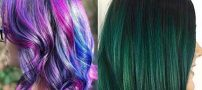 رنگ موهای دخترانه و زنانه تابستان ۲۰۱۸ +مدل رنگ موهای متفاوت و زیبا 97