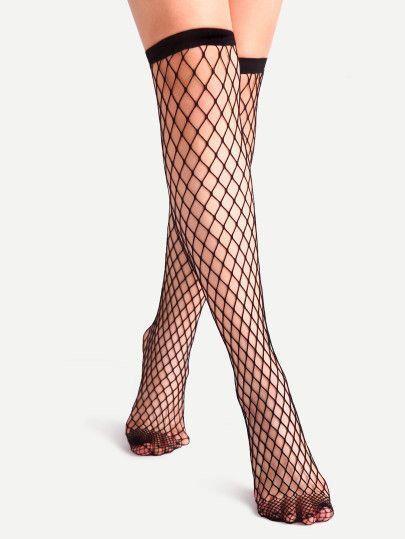مدل جوراب زنانه ساق بلند و کالج   مدل جوراب دخترانه تور (22 مدل)