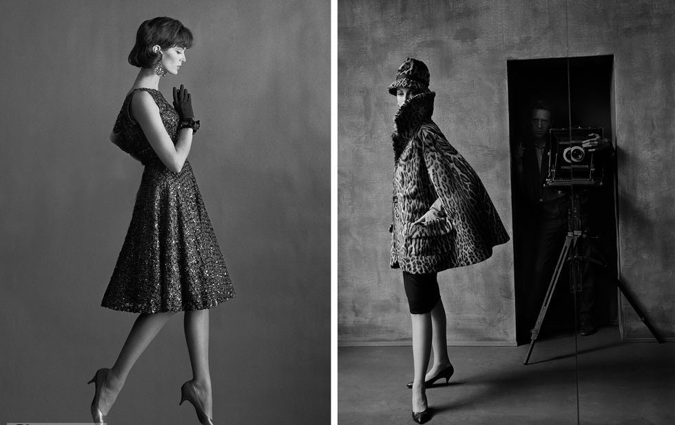 پیرترین مدلینگ جهان که هنوز هم جذاب و زیبا است