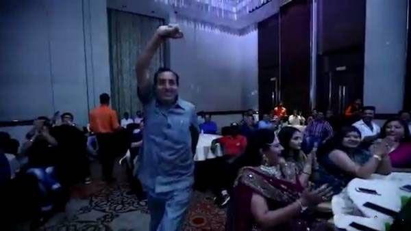 مرگ ناگهانی مرد ثروتمند هنگام رقص وسط مسابقه +عکس