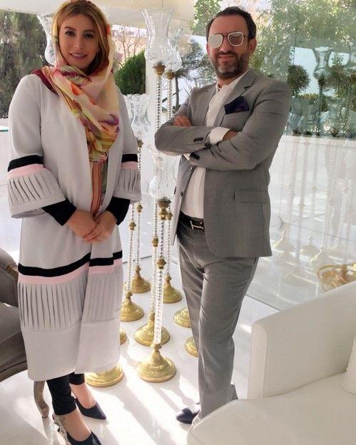انتشار اولین عکس دختر فریبا نادری و همسرش | عکس نوزاد فریبا نادری