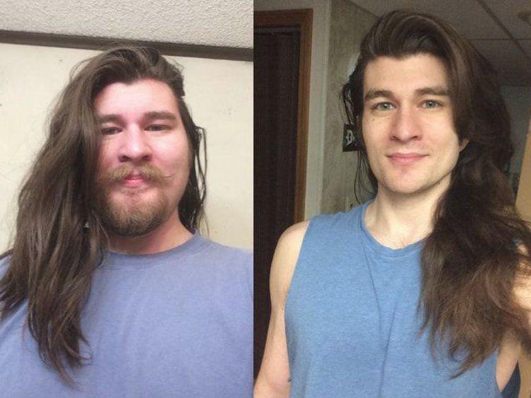 این مرد جوان با کم کردن 70 کیلوگرم وزن شبیه شخصیت های کارتونی شد