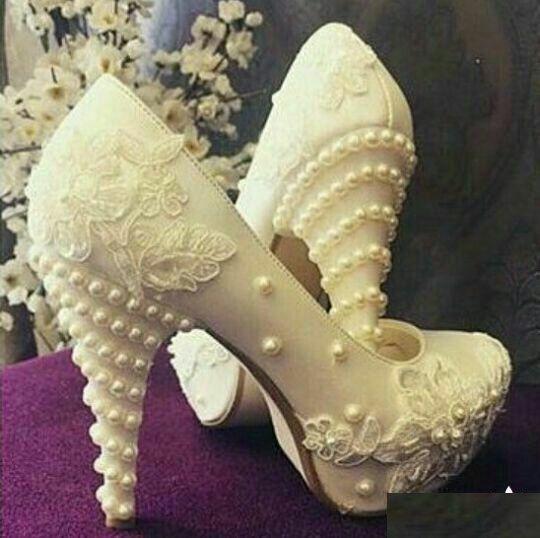 مدل کفش عروس 98 شیک ترین مدل های کفش پاشنه بلند عروس 2019