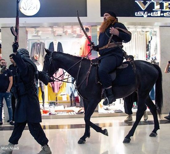 ماجرای جنجالی حضور داعشی ها در پردیس کوروش