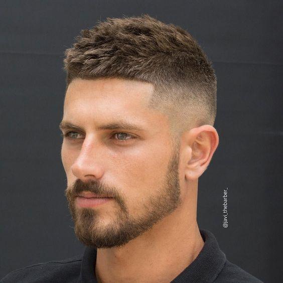 بهترین مدل موی کوتاه مردانه +مدل ریش و ته ریش 2018 و 2019