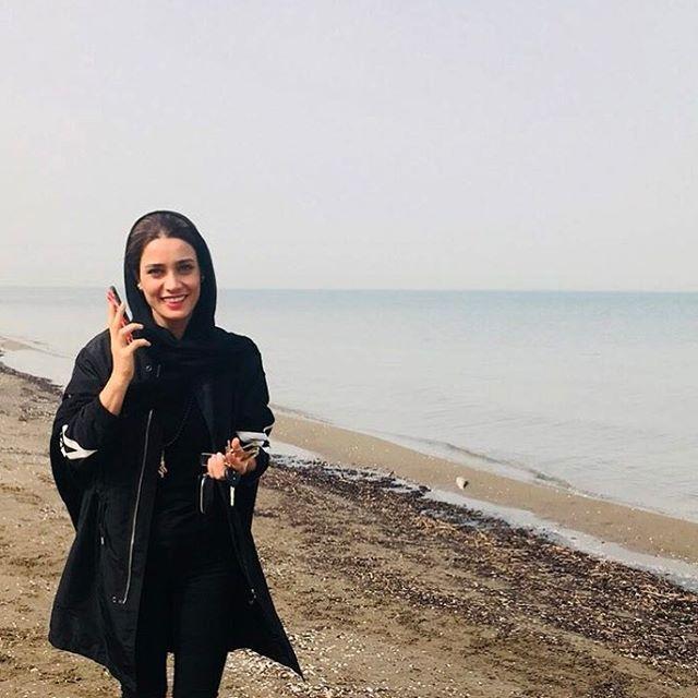 عکس های بدون آرایش تینا آخوندتبار بازیگر و بوکسور