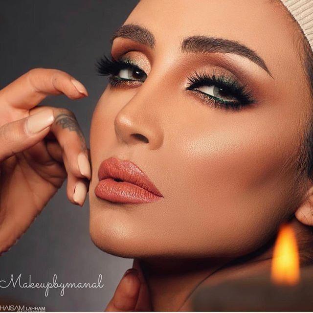 جدیدترین عکس های الهام عرب مدل ایرانی +مدل آرایش به سبک مدلینگ ها