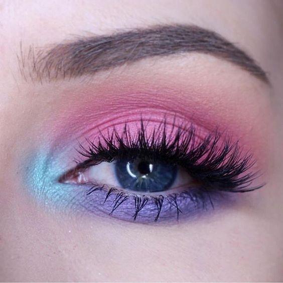 زیباترین مدل های آرایش چشم اروپایی ۲۰۱۸ (زیباترین مدل های خط چشم و مدل ابرو)