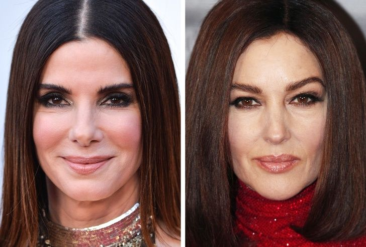 مقایسه جالب چهره بازیگران زن که هم سن هستند