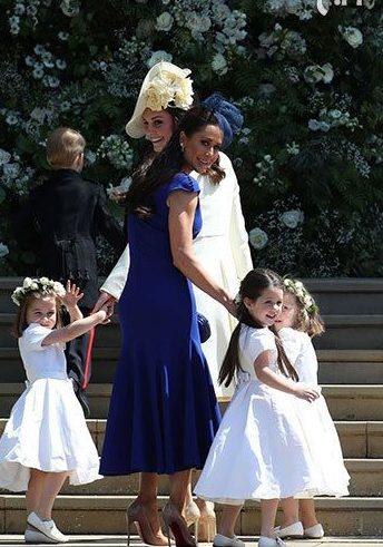استایل ستاره ها در مراسم عروسی مگان مارکل