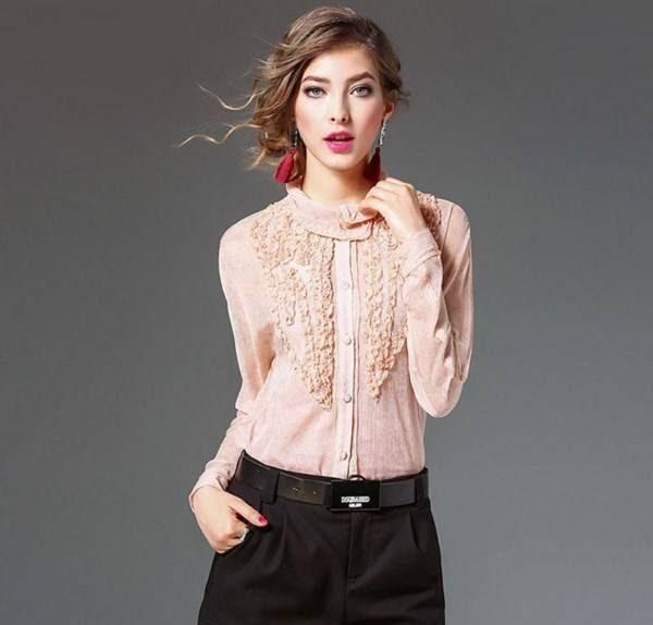 جدیدترین مدل های شومیز آستین کلوش مجلسی (مدل لباس شومیز)