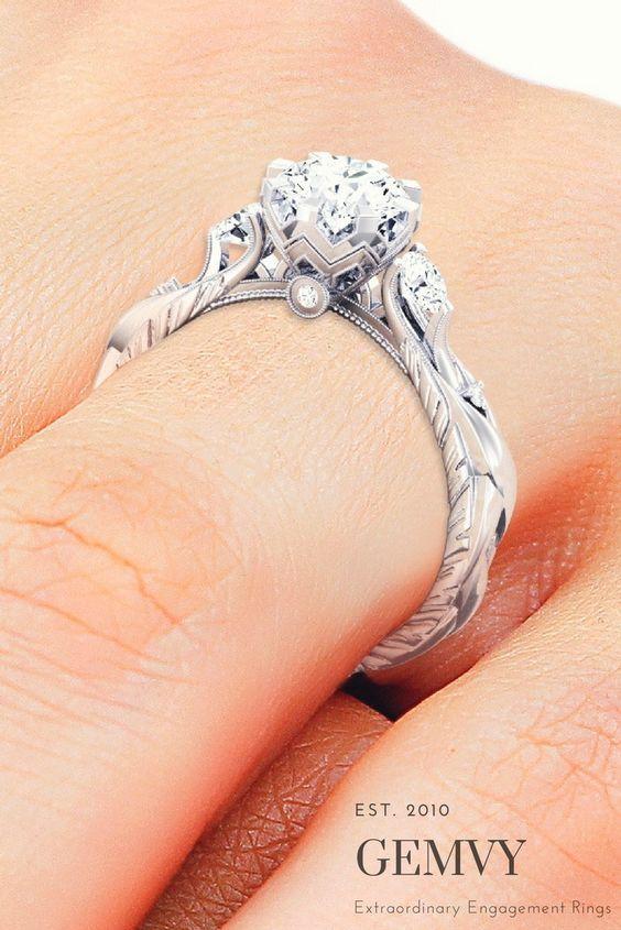 زیباترین ست های حلقه ازدواج +حلقه نامزدی در مدل های متنوع بسیار شیک