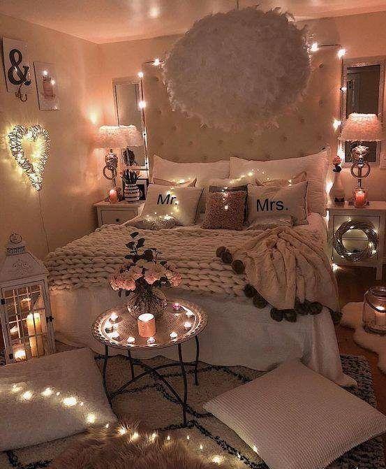 زیباترین تزئینات اتاق عروس + آموزش تزئین دکوراسیون اتاق نو عروس