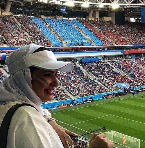 حضور جنجالی لیندا کیانی در جام جهانی روسیه +عکس و بیوگرافی لیندا کیانی