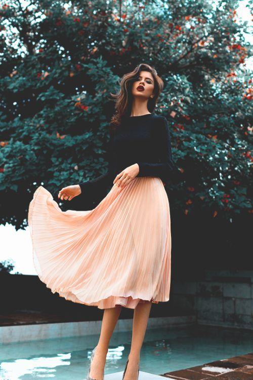 مدل های دامن زنانه و دخترانه 2018 | مدل دامن رسمی و غیر رسمی 97