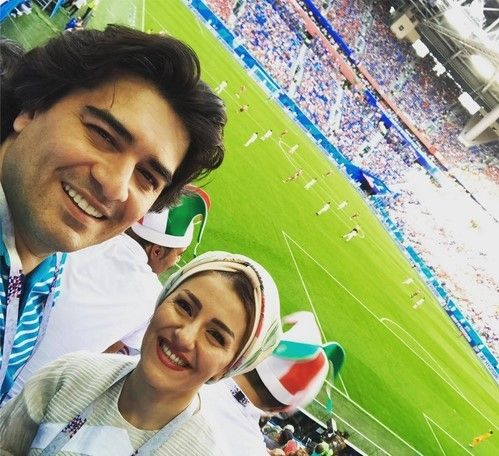 بازیگران و سلبریتی هایی مشهوری که به جام جهانی 2018 روسیه رفته اند