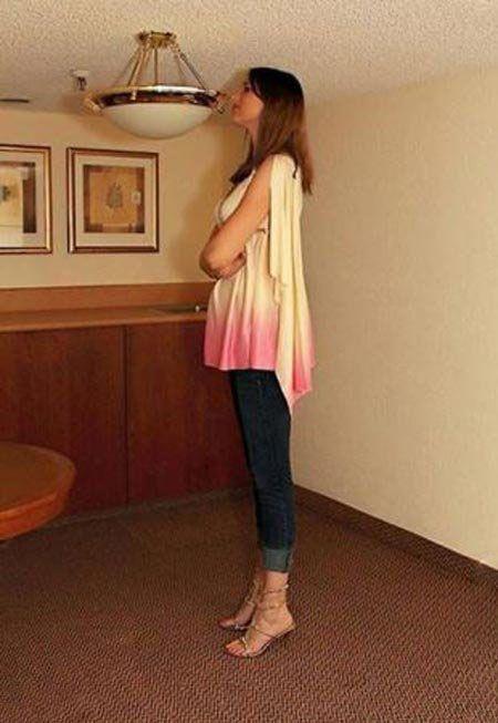 خوش اندام ترین دختر قد بلند آمریکایی مدل شد +عکس