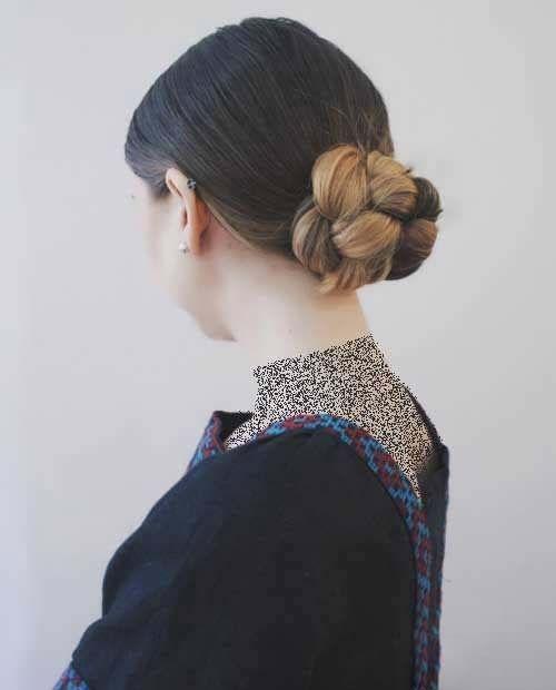 بهترین مدل های شینیون مو ساده ،رسمی ،کلاسیک و انواع شینیون های 2018 و 2019