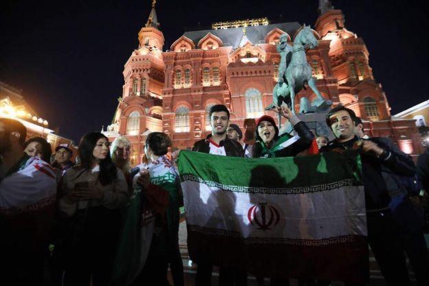 همراه با تیم ملی و هواداران زن و مرد ایرانی در جام جهانی روسیه