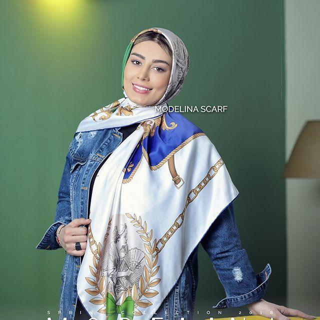 استایل اندام و زیباترین مدل شال و روسری سحر قریشی در طرح و رنگ های متنوع