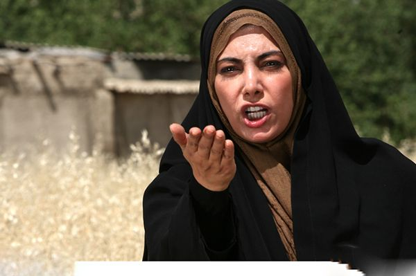 لادن طباطبایی بازیگر مشهور بدون حجاب در شبکه من و تو +عکس