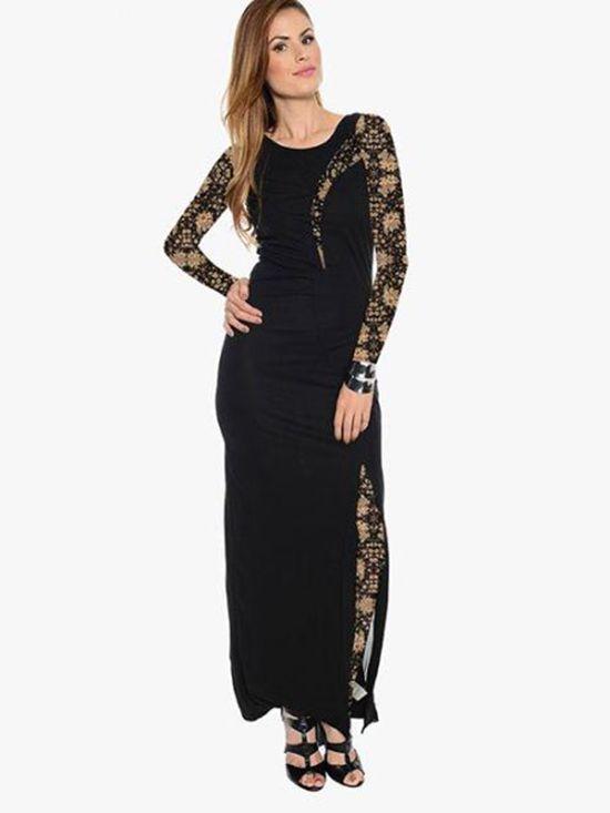 شیک ترین مدل لباس مجلسی زنانه بلند برای تابستان در انواع رنگ های زیبا
