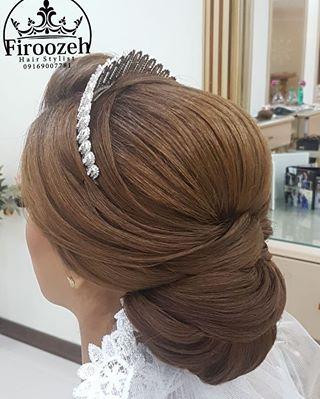 شیک ترین و جذاب ترین مدل های شینیون مجلسی برای خانم های خوش سلیقه زیبا