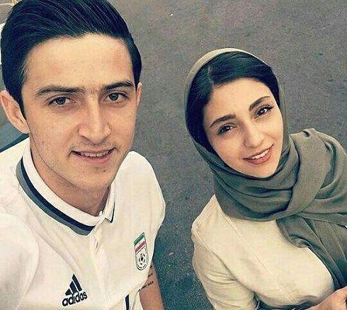 بيوگرافي كامل سردار آزمون ستاره جوان فوتبال ايران + ازدواجش و زندگي شخصي