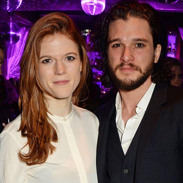 مراسم عروسی ستاره های عاشق سریال گیم آف ترونز game of Thrones