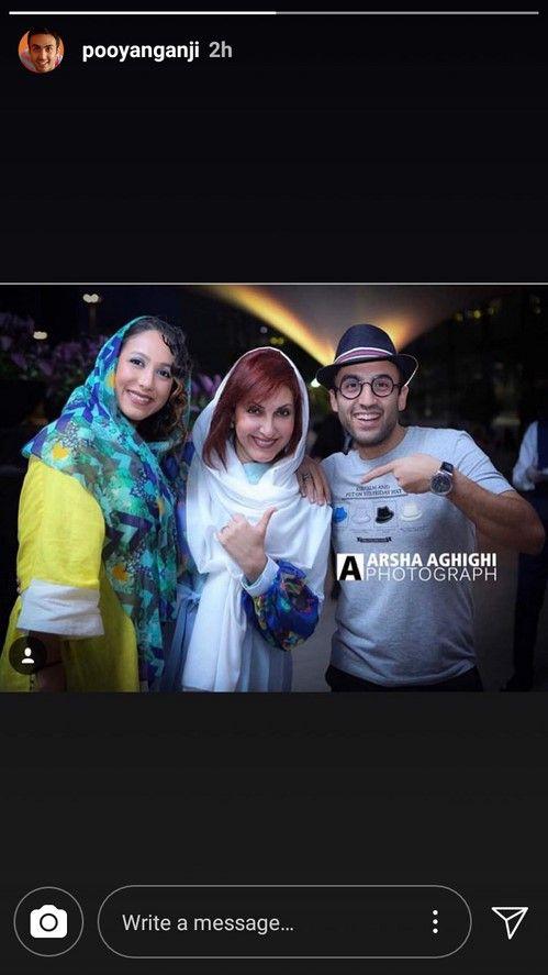 استوري اينستاگرام هنرمندان و بازيگران معروف ايراني در اين روزها
