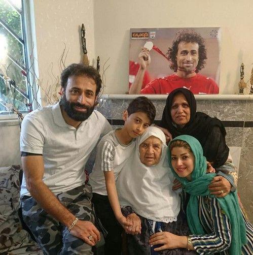 عکس بازیگران به همراه خانواده شان در سال 97 (سری جدید)