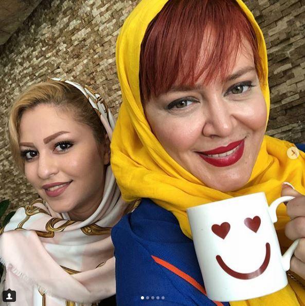 کافه اینستا با بهاره رهنما، سلطان فضای مجازی +عکس