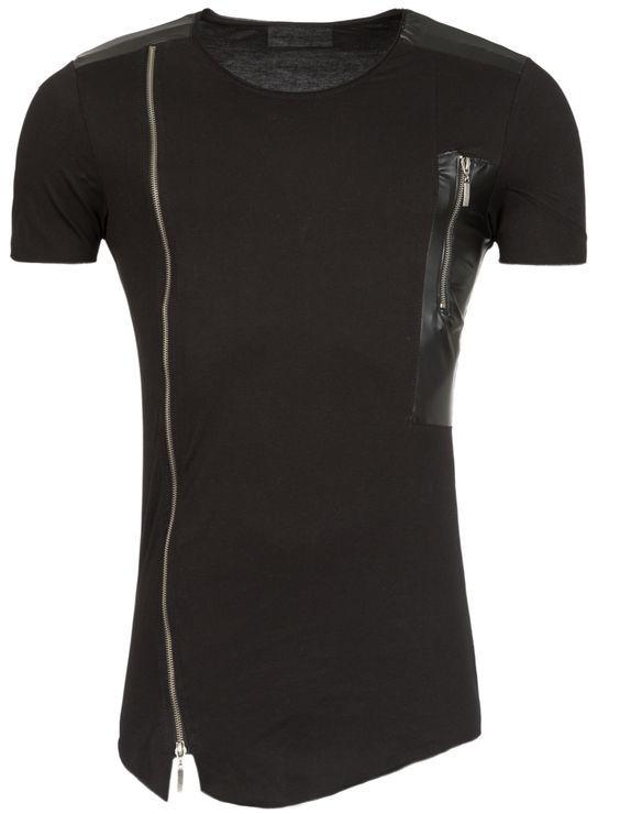 مدل های تیشرت لانگ مردانه + نکات پوشیدن تیشرت برای مردان