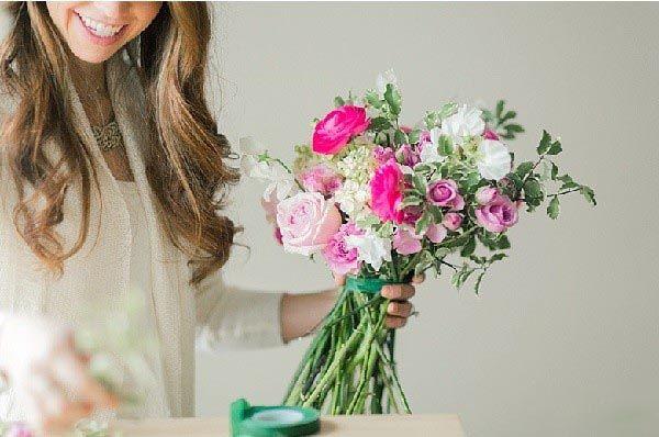 آموزش تزیین سبد گل + استند گل برای آشپزخانه