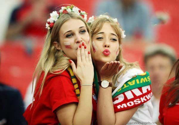 زیباترین دختران تماشاچی جام جهانی 2018 روسیه | زیباترین زنان جام جهانی