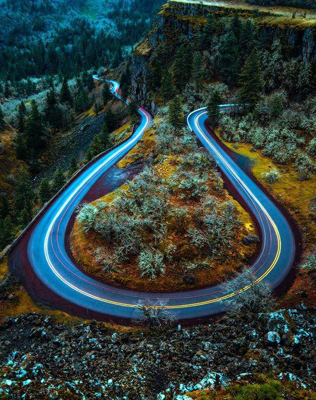 جاده های دیدنی دنیا + عکس