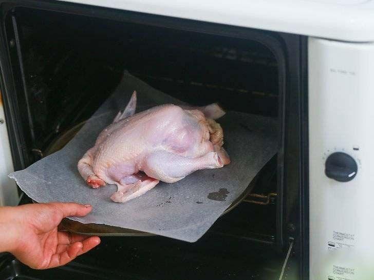 3 روش تهیه مرغ بریان و شکم پر (آموزش کامل تصویری)