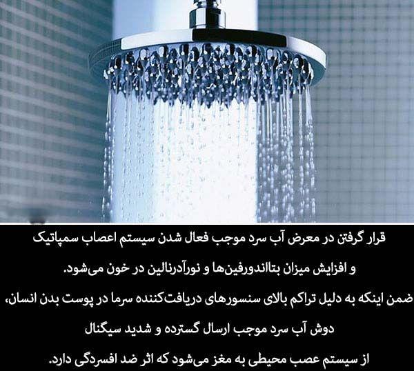فواید و خواص دوش آب سرد در تابستان (دانستنی های مهم دوش گرفتن آب سرد)